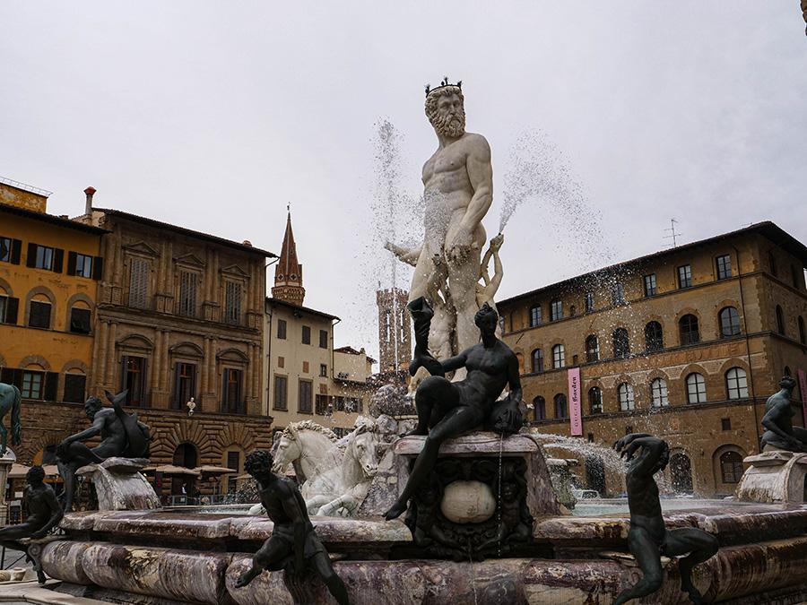 Piazza della Signoria atrakcje we Florencji