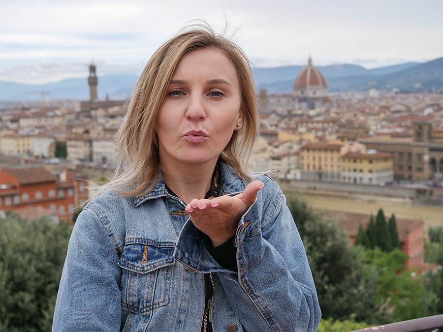 Piazzale Michelangelo atrakcje co warto zobaczyć we Florencji