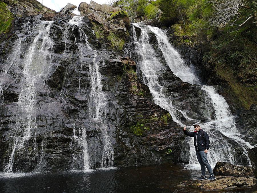 najwyższy wodospad w walii