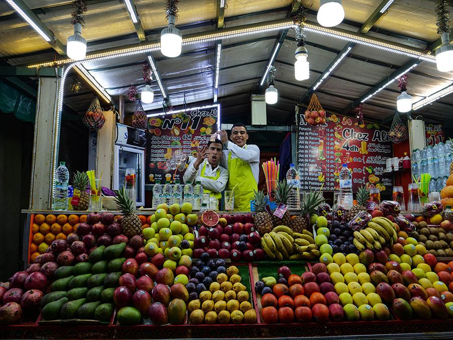 marrakesz Plac Dżemaa el Fna atrakcje