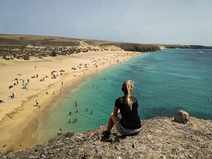 playa mujeres plaże na lanzarote