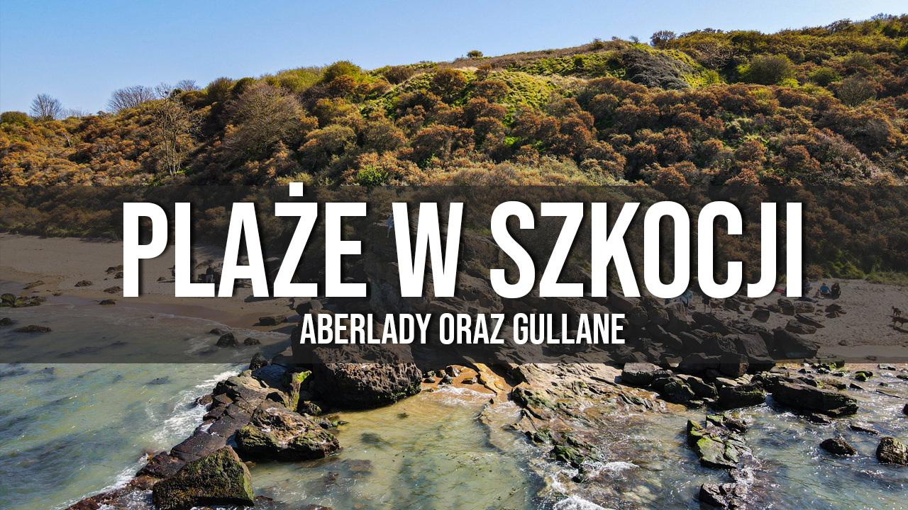 plaże w Szkocji Aberlady Gullane