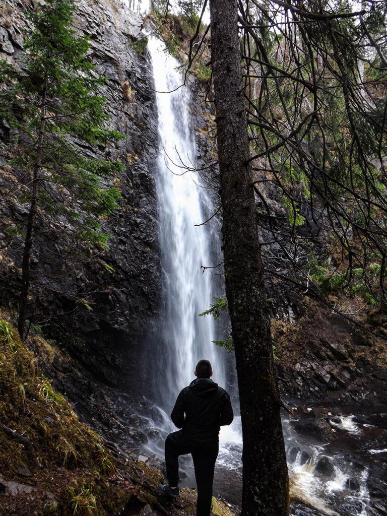 plodda falls wodospady w szkocji
