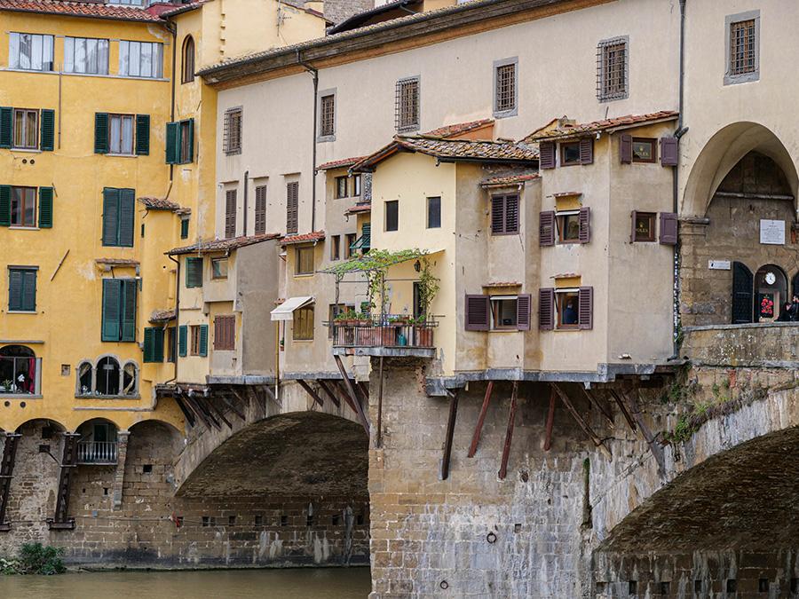 Ponte Vecchio - najpiękniejszy most we Włoszech atrakcje co warto zobaczyć we Florencji