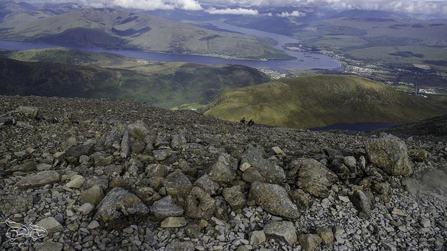 relacja z wyjazdu do szkocji munro bagging hasające zające