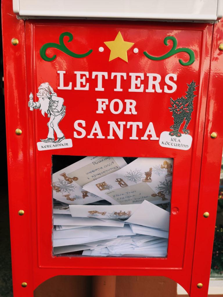 reykjavik letters for santa