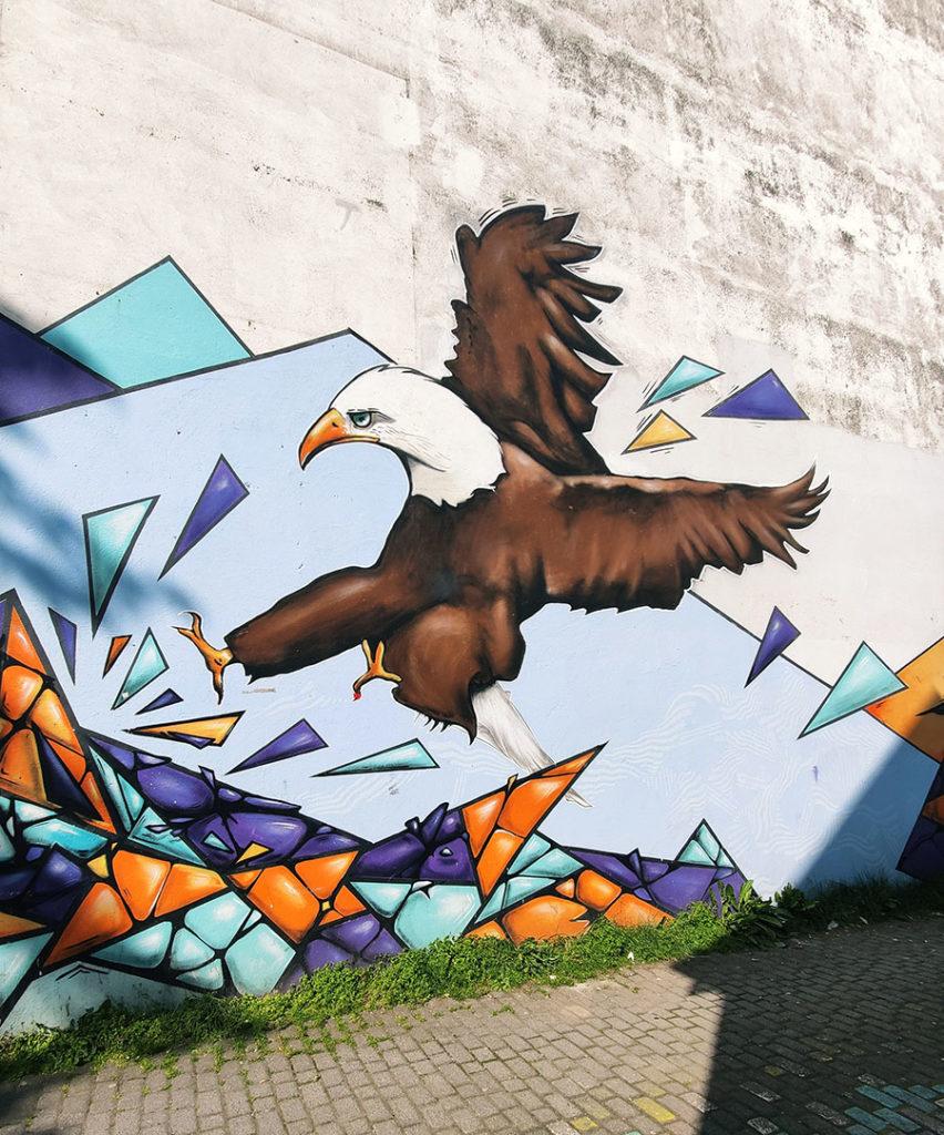 reykjavik street art mural