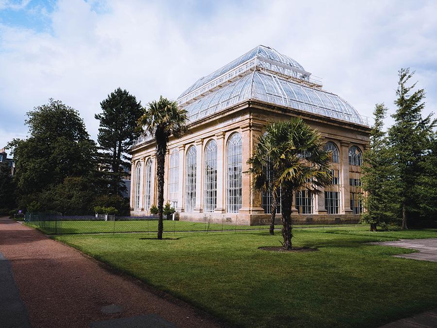 Royal Botanic Garden - królewskie ogrody w Edynburgu