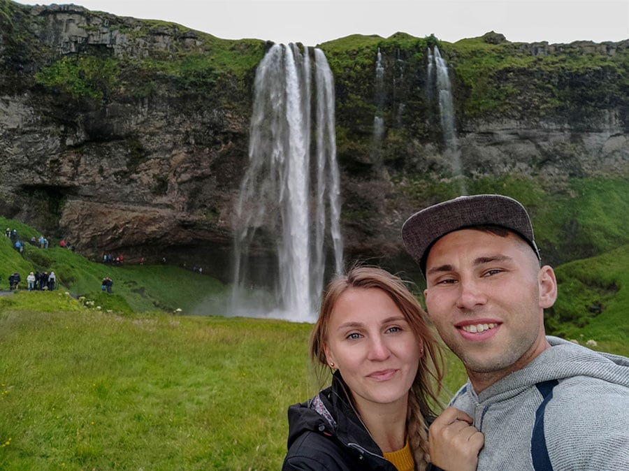 islandia Seljalandsfoss