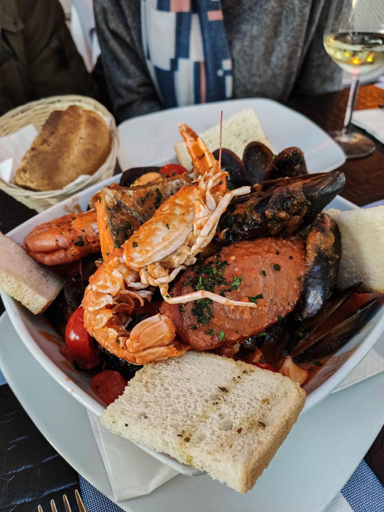 sirmione lago di garda restauracje gdzie zjeść