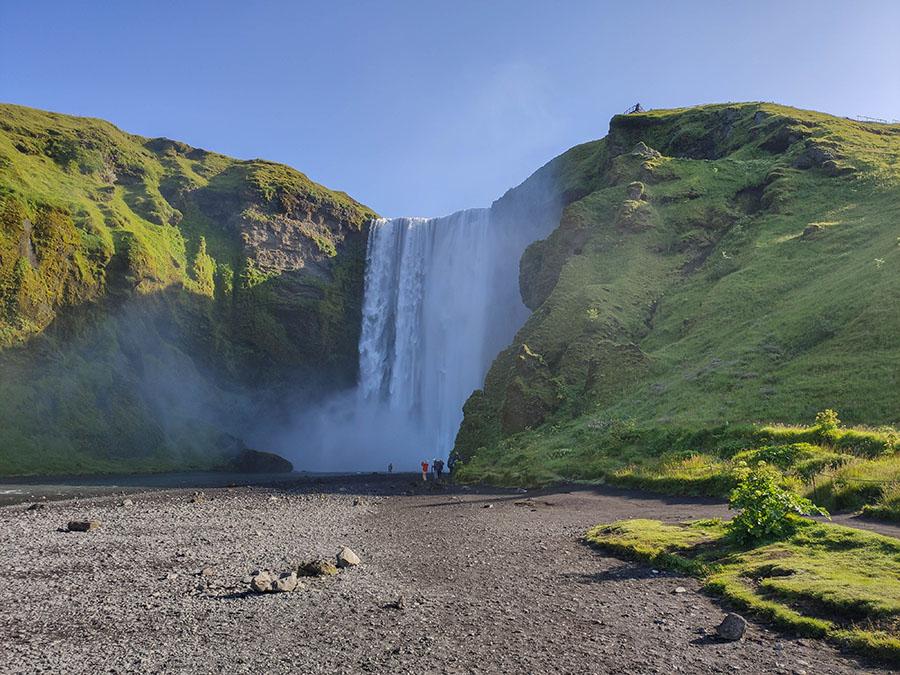 skogafoss atrakcje islandia