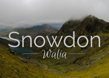 Wspinaczka na Snowdon - Walia Północna