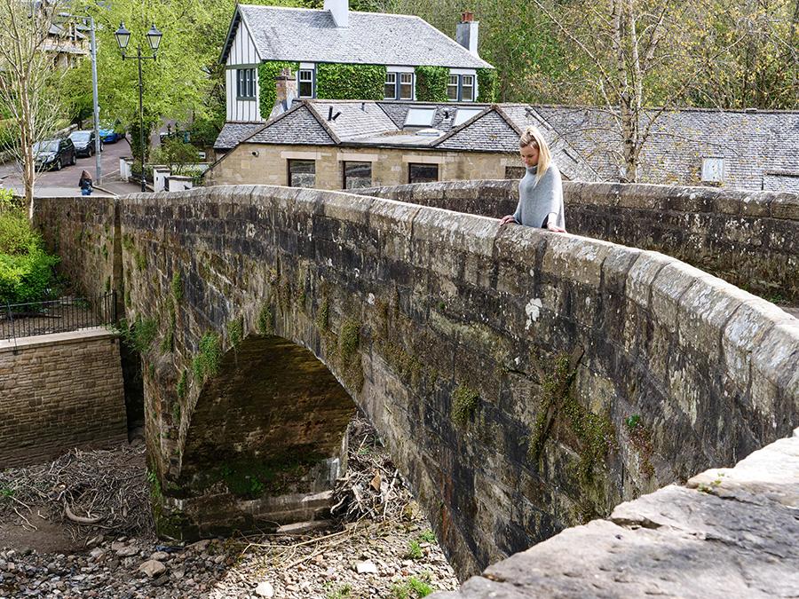 snuff mill bridge glasgow co zobaczyć