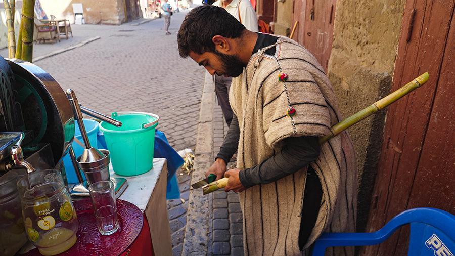 maroko sok z trzciny cukrowej