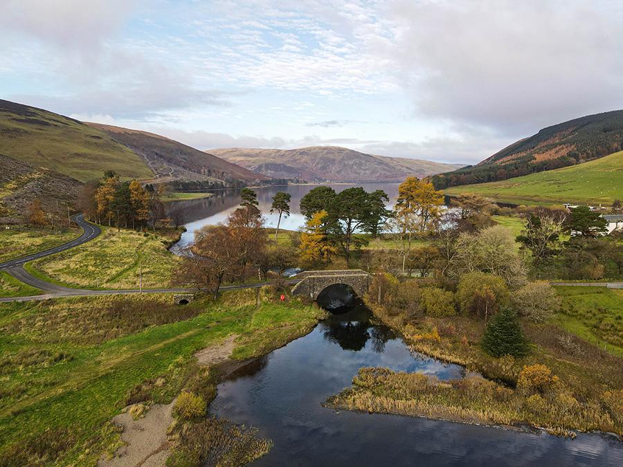St Mary Loch - jeziora w Szkocji