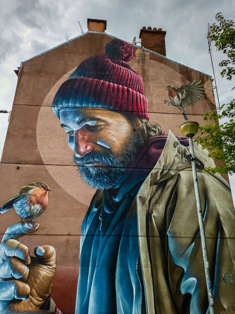 street art w Glasgow
