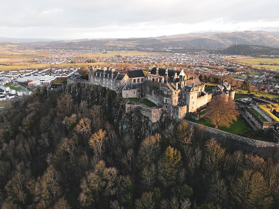 Stirling Castle - potężny szkocki zamek atrakcje w mieście