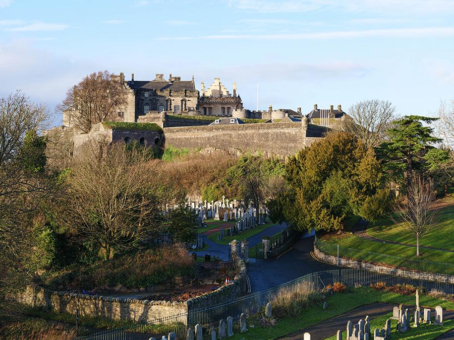 największe miasta w Szkocji Stirling
