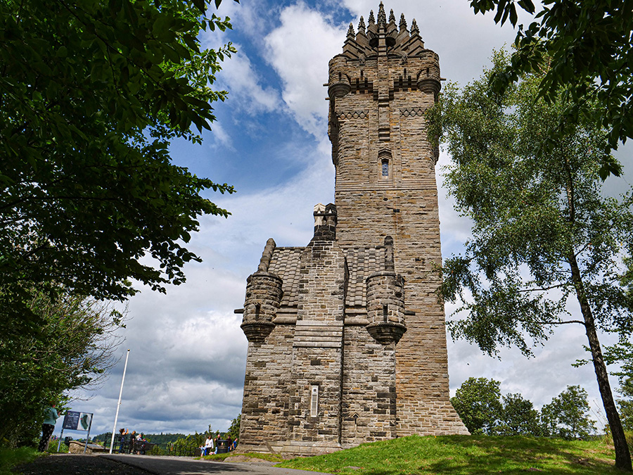 National wallace monument atrakcje w stirling