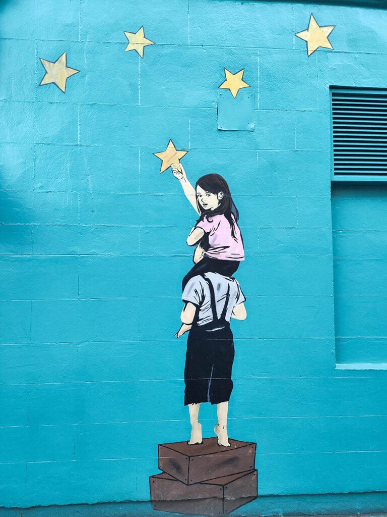 sztuka uliczna w glasgow