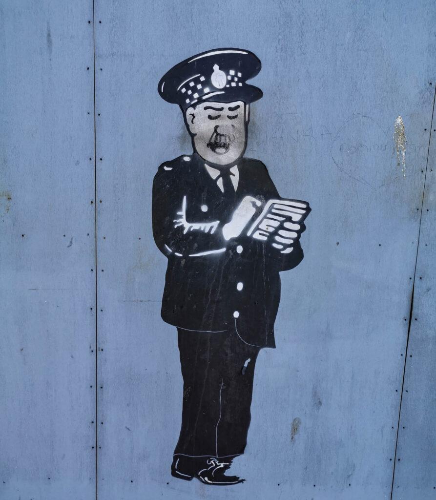 Street Art w Dundee