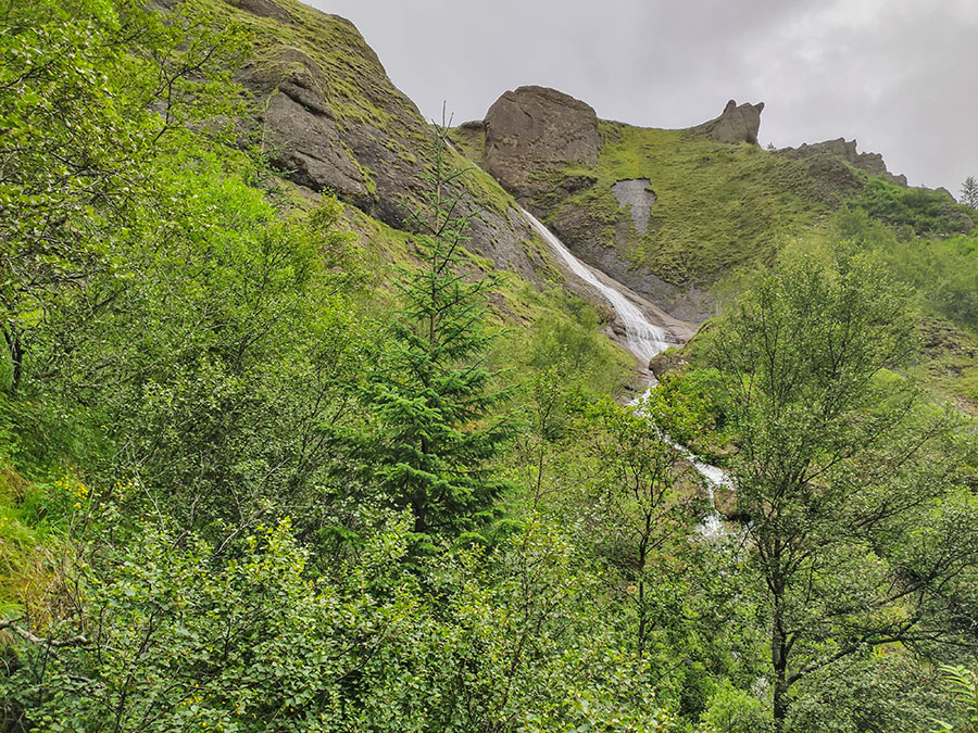 systrafoss wodospad islandia