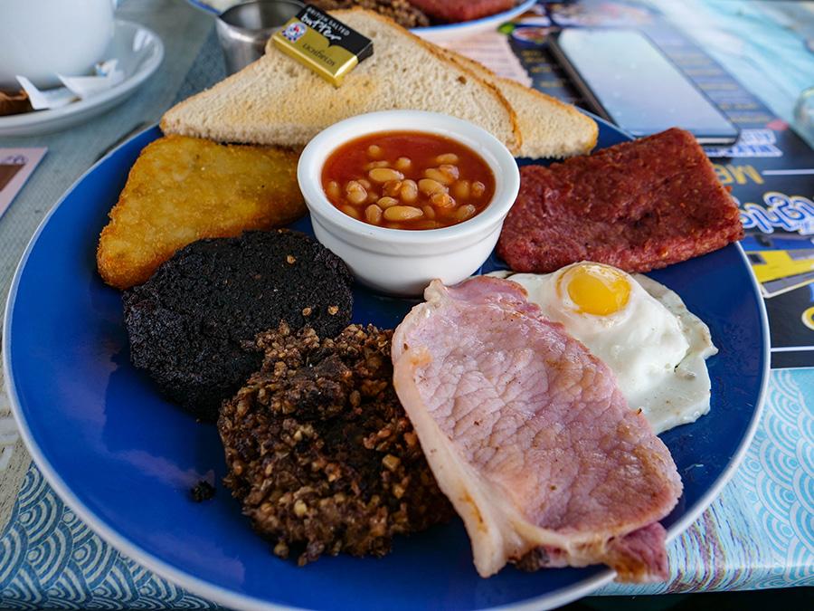 szkockie śniadanie jak smakuje