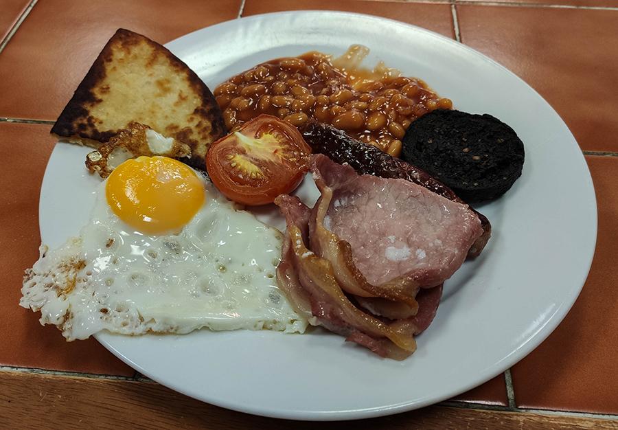 west highland way szkockie śniadanie