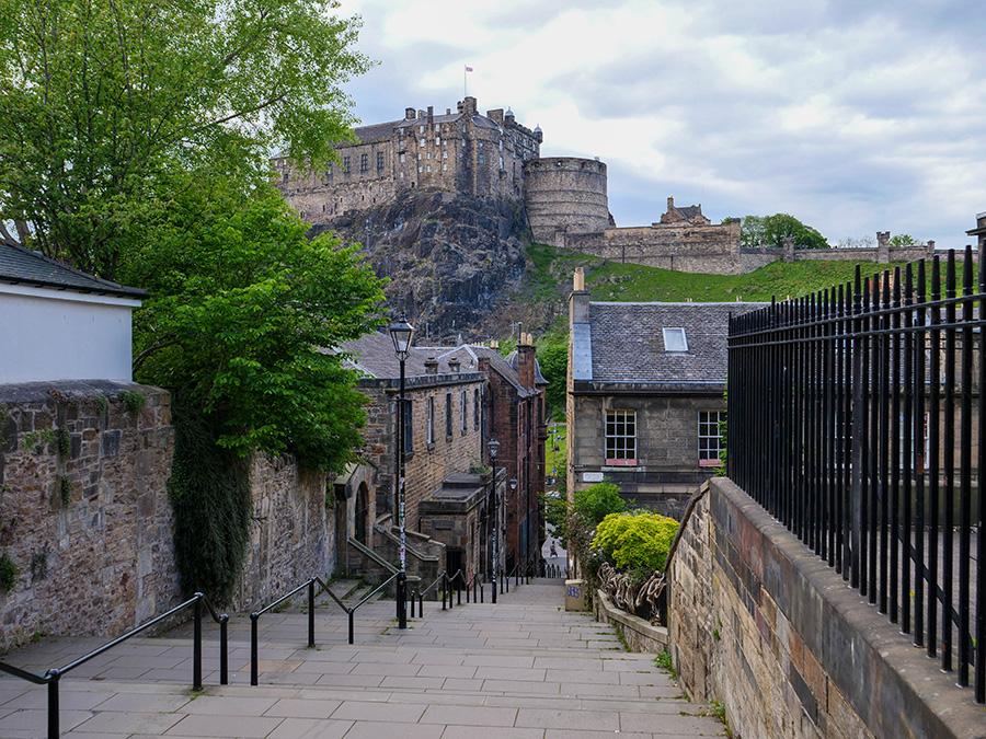 największe miasta w Szkocji Edynburg