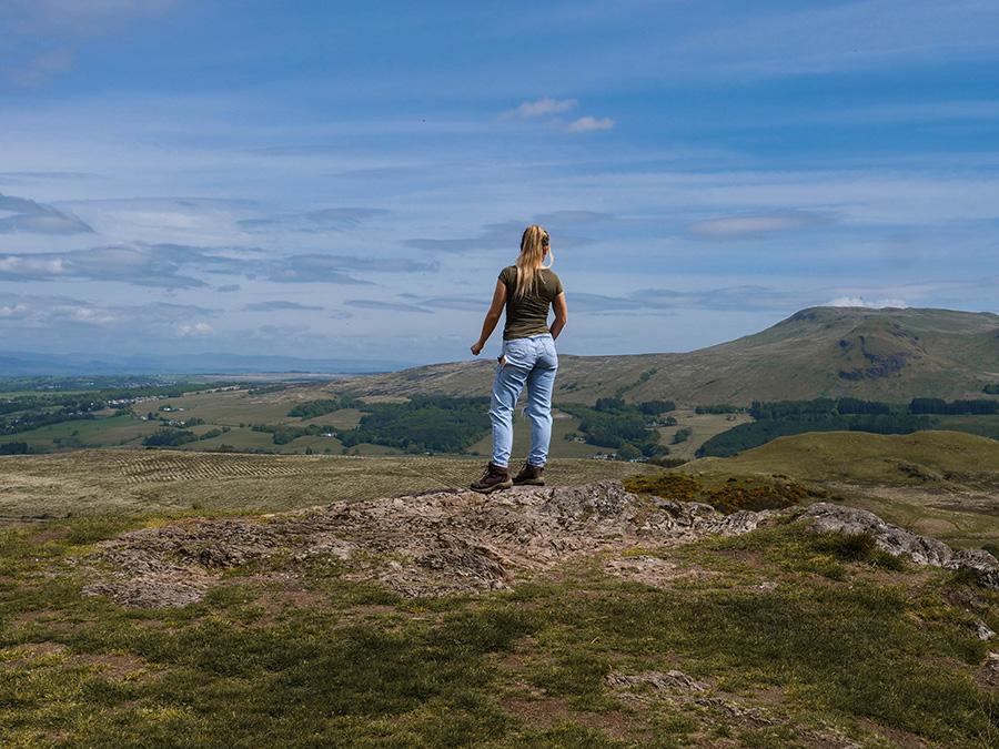 The Whangie Loch Lomond ukryte perełki w Szkocji