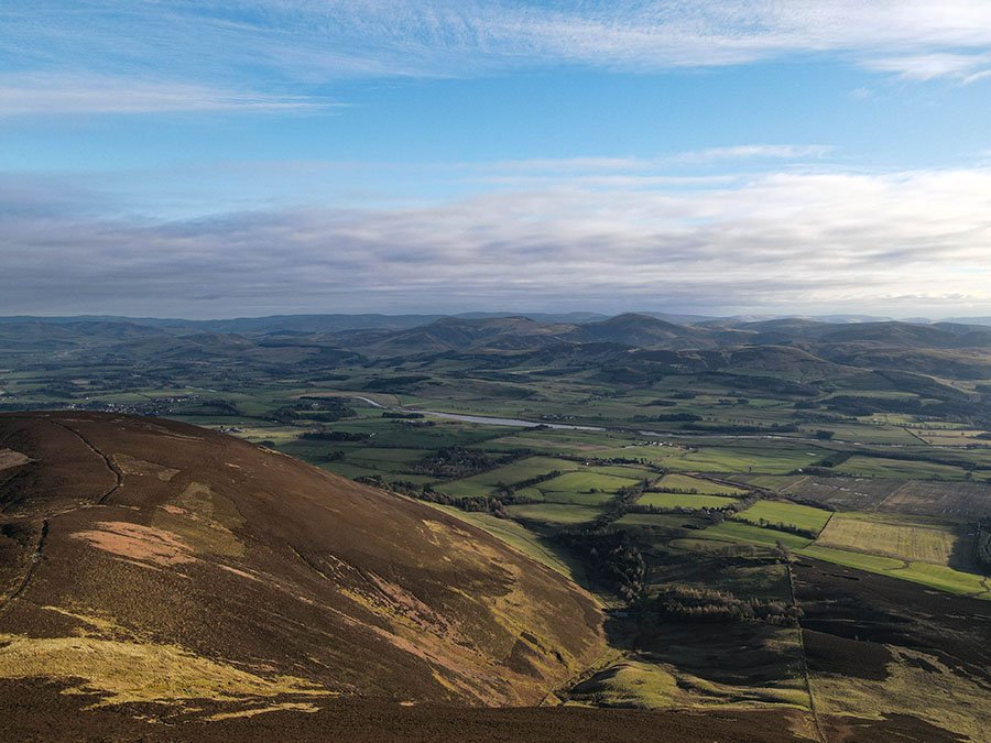 wzgórze tinto atrakcje w południowej szkocji