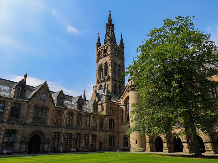 Uniwersytet w Glasgow szkocja