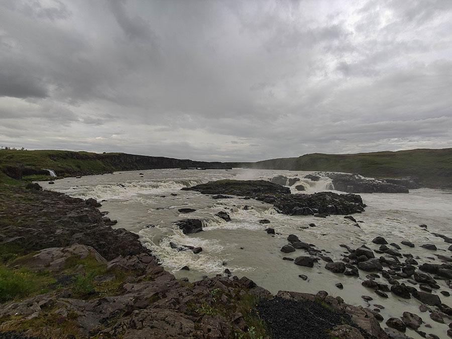 uridafoss wodospad islandia
