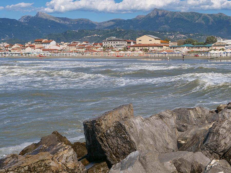 viareggio plaże w pobliżu Pizy
