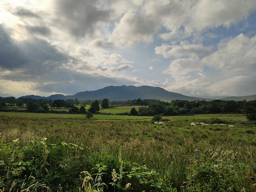 west highland way balmaha conic hill owce