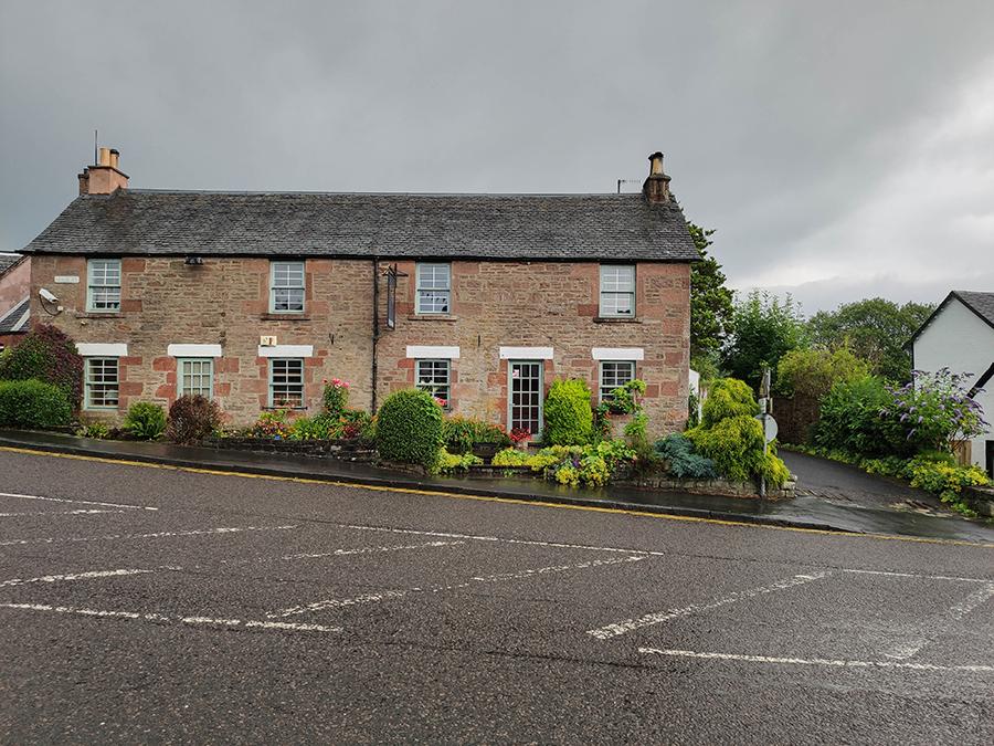west highland way drymen wioska w szkocji