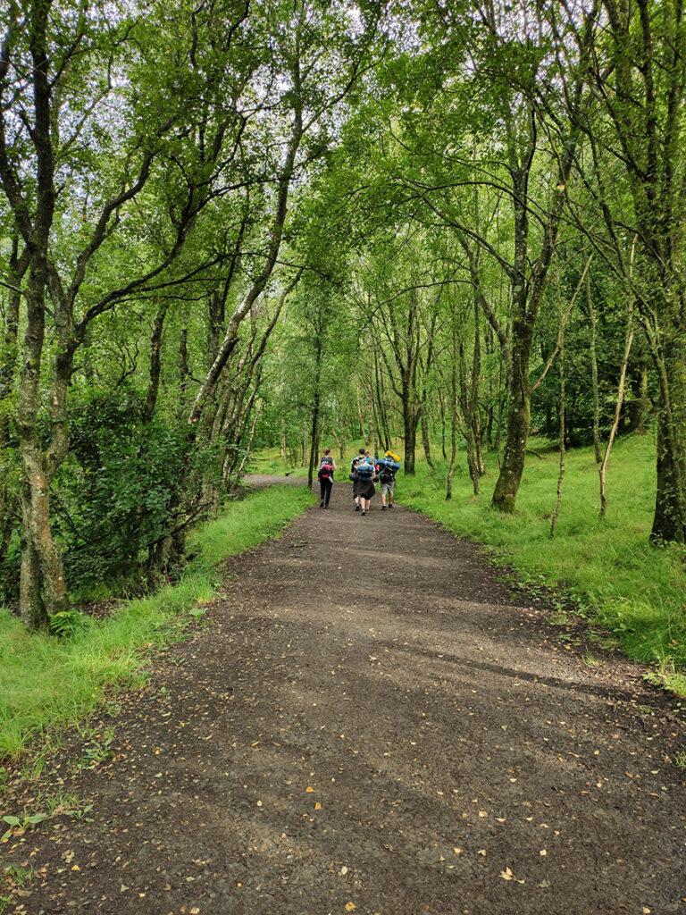 west highland way atrakcje pierwszy dzień