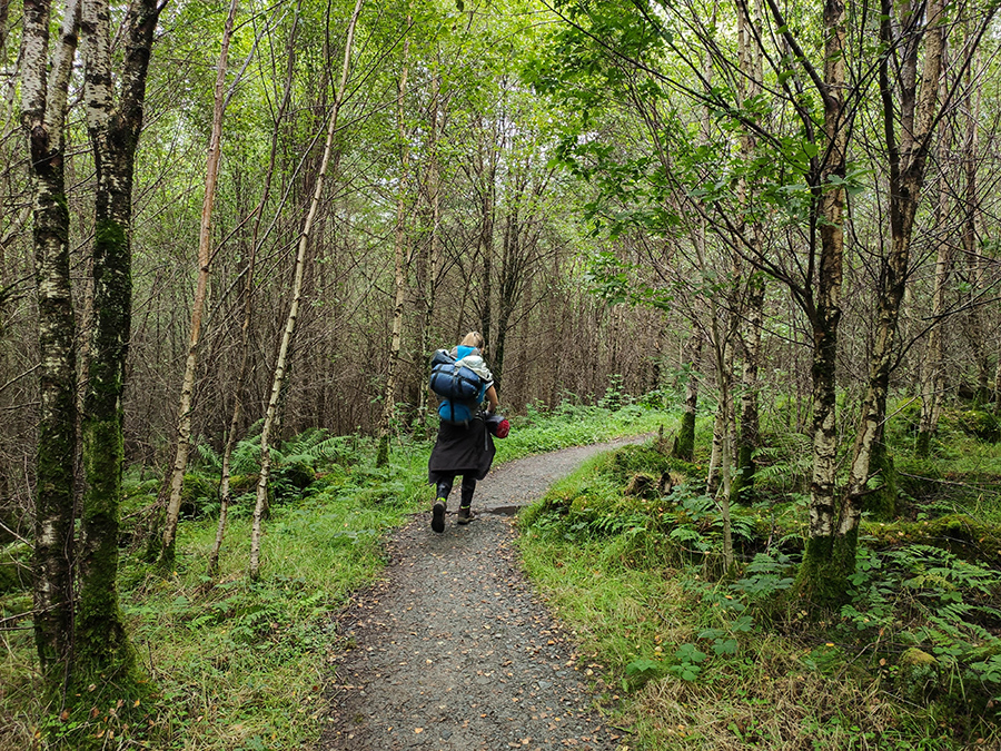 west highland way atrakcje nad loch lomond