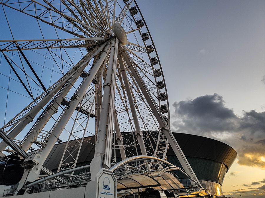 wheel of liverpool atrakcja turystyczna