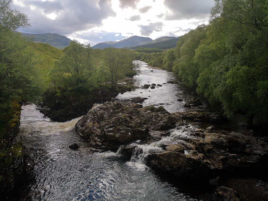 White Bridge Falls west highland way