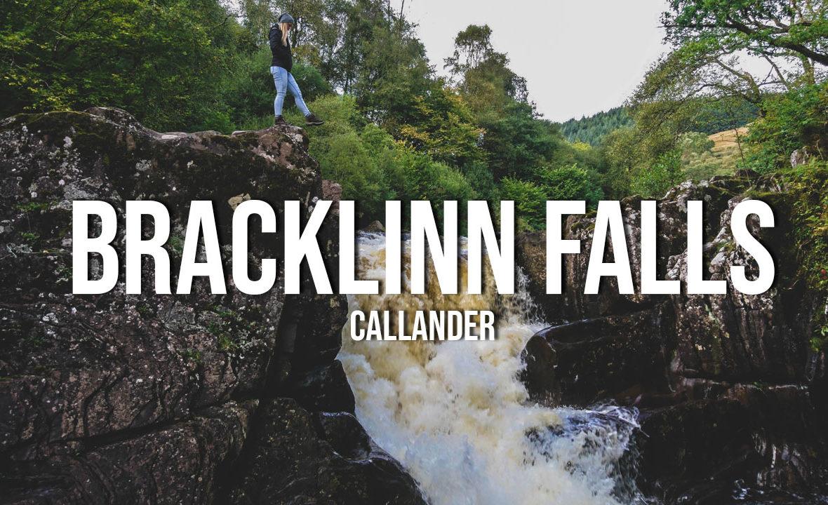 wodospady bracklinn falls callander