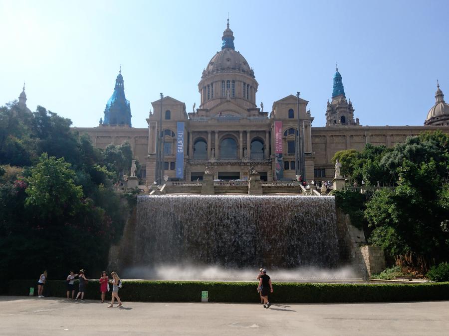 wzgórze montuic barcelona